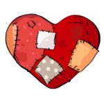 Zlomené srdce je nebezpečný stav bez energie